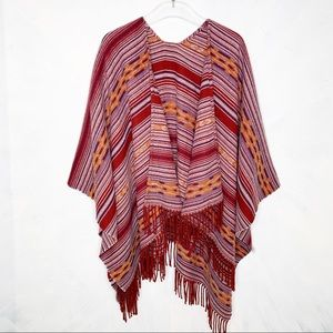 Uniqlo Southwestern Blanket Scarf Wrap Sole
